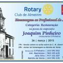 Joaquim Pinheiro Homenageado pelo Rotary