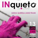 Ciclo Cultural INquieto-Minha Queria Anne Frank