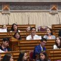 Alunos de Alcanede no Parlamento dos Jovens