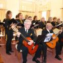 Coro da UTIS canta as Janeiras no Salão Nobre