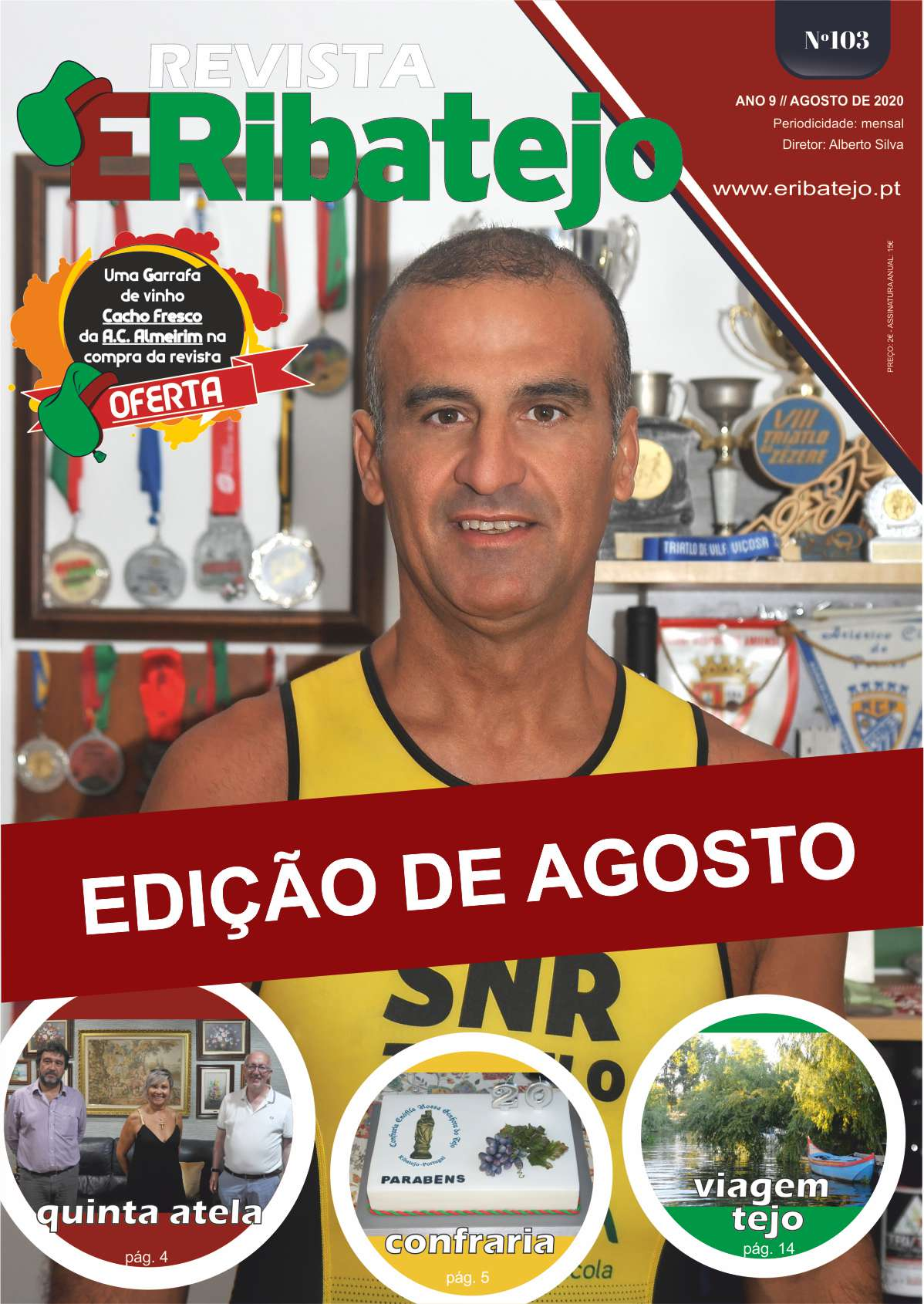 Revista É Ribatejo Agosto